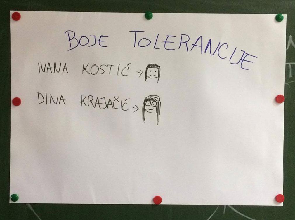 Boje tolerancije
